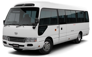 Toyota Coaster On Rent In Delhi