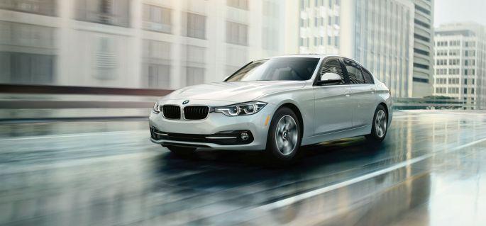 BMW 3 series on rent in delhi