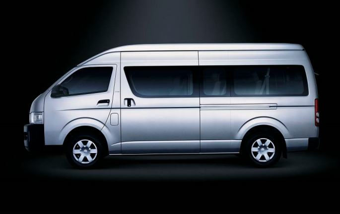 Toyota Commuter HIACE On Rent In Delhi